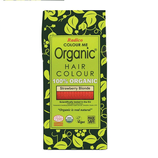 Radico Colour Me Organic - Hair Colour Powder -  Strawberry Blonde