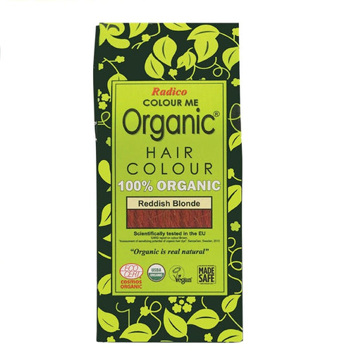 Radico Colour Me Organic - Hair Colour Powder -  Reddish Blonde