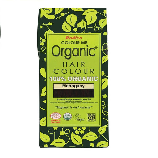 Radico Colour Me Organic - Hair Colour Powder -  Mahogany