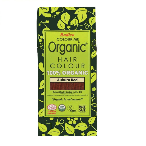 Radico Colour Me Organic - Hair Colour Powder -  Auburn Red