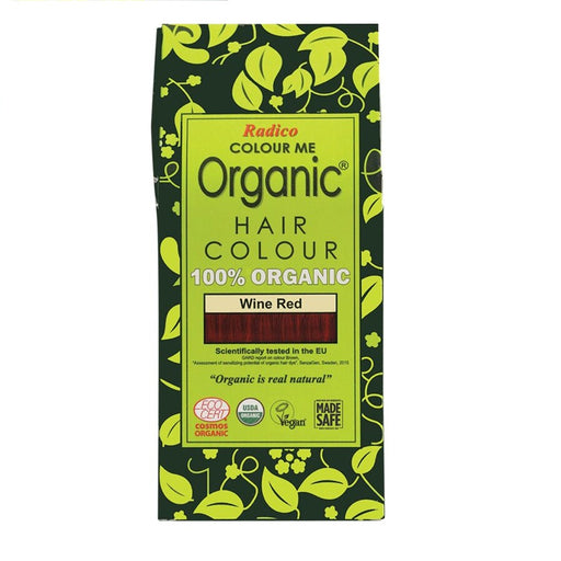 Radico Colour Me Organic - Hair Colour Powder -  Wine Red