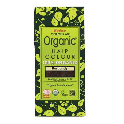 Radico Colour Me Organic - Hair Colour Powder -  Burgundy