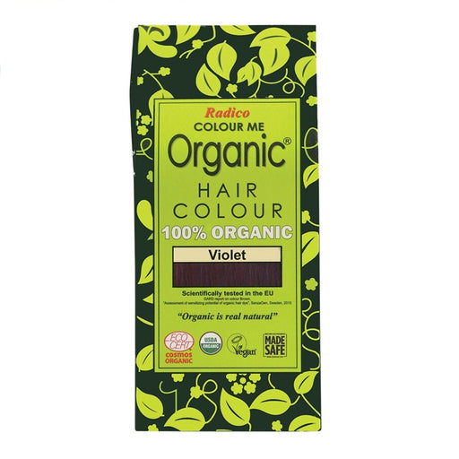 Radico Colour Me Organic - Hair Colour Powder - Violet