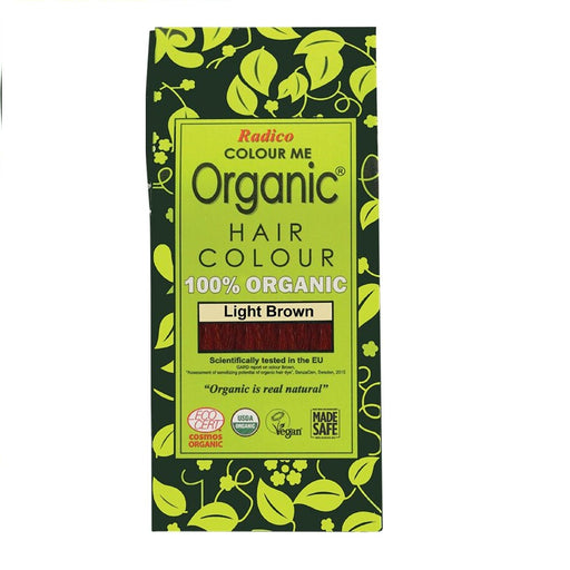 Radico Colour Me Organic - Hair Colour Powder - Light Brown