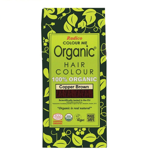 Radico Colour Me Organic - Hair Colour Powder - Copper Brown