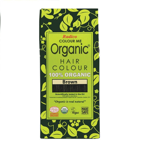 Radico Colour Me Organic - Hair Colour Powder - Brown