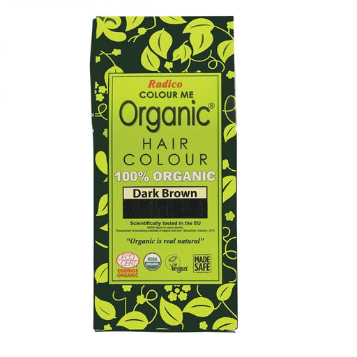 Radico Colour Me Organic - Hair Colour Powder - Dark Brown