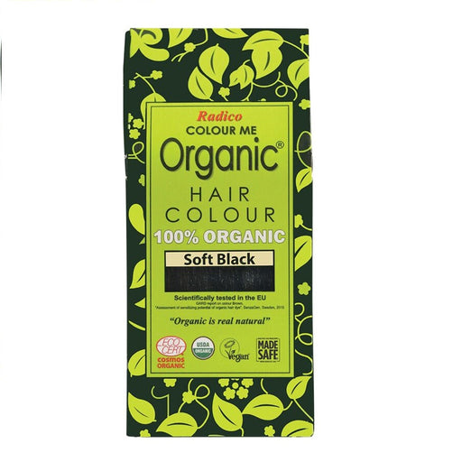 Radico Colour Me Organic - Hair Colour Powder - Soft Black