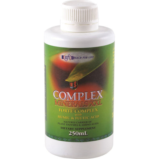 Reach For Life Complex Minerals XXL with Humic & Fulvic Acid 250ml