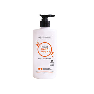 Resparkle Organic Hand Wash - Orange, Lime & Grapefruit 500ml