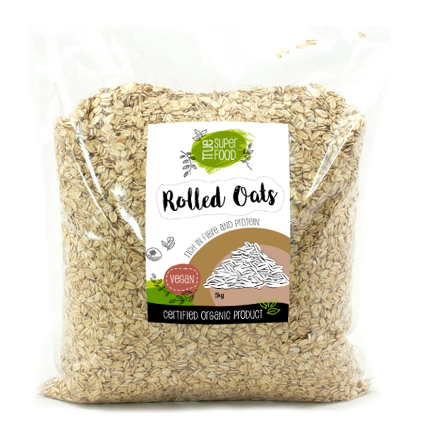 AOP Bulk Rolled Oats Australian Grown & Certified Organic