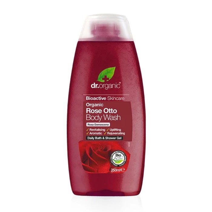 DR ORGANIC Body Wash Rose Otto 250ml