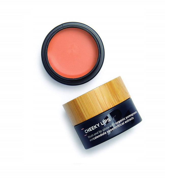 The Organic Skin Co - Cheek & Lip Blush Pot - Cheeky Lips Desert Storm