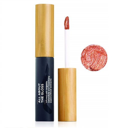 The Organic Skin Co - Lip Gloss - All About The Gloss Barefoot