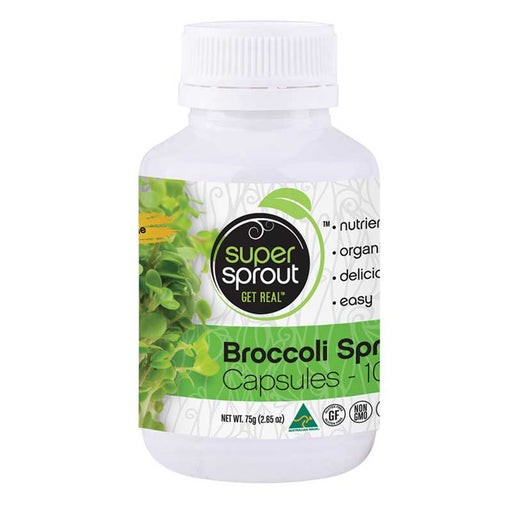 SUPER SPROUT Organic Broccoli Sprout 100 VegeCaps