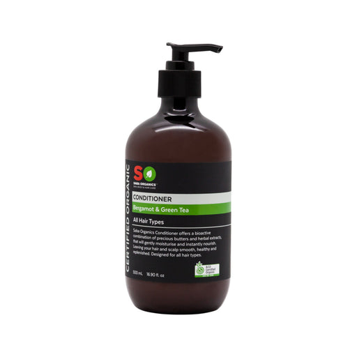 Saba Organics Certified Organic Bergamot & Green Tea All Hair Types Conditioner