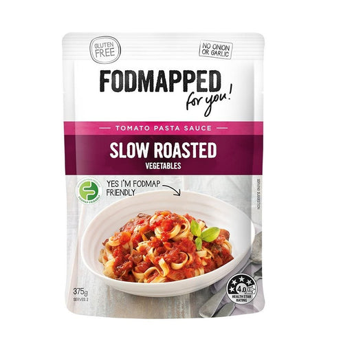 Fodmapped Slow Roasted Vegetables Pasta Sauce