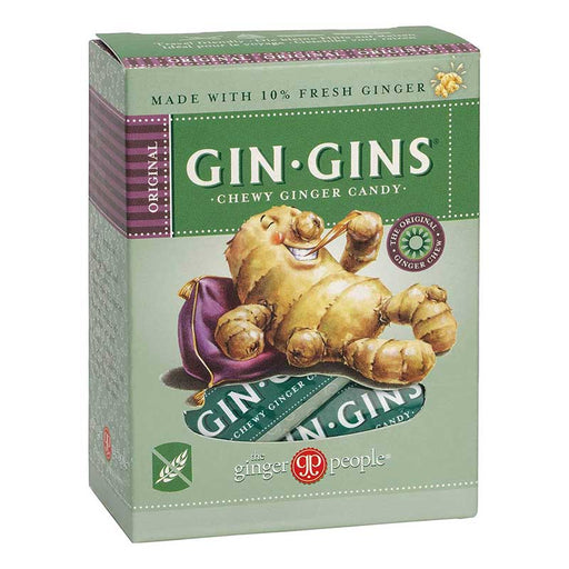 THE GINGER PEOPLE Gin Gins Ginger Candy Chewy Original 84g