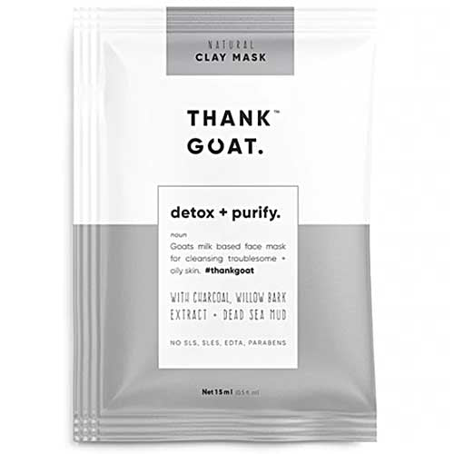 THANK GOAT Clay Mask Detox and Purify Sachet 15ml