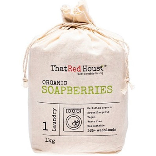 THAT RED HOUSE Organic Soapberries Natural Laundry Detergent 1kg