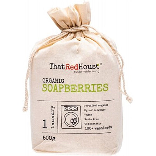 THAT RED HOUSE Organic Soapberries Natural Laundry Detergent 500g