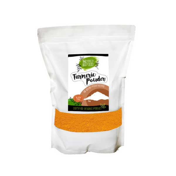 AOP Certified Organic Turmeric Powder Large