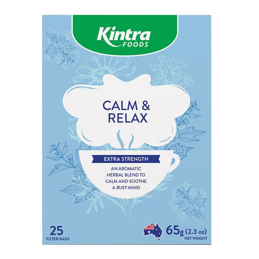 Kintra Foods 25 Herbal Tea Bags Calm & Relax