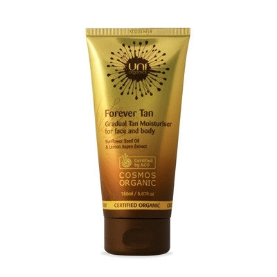 Uni Organics Gradual Forever Tan Face & Body Cream 150ml