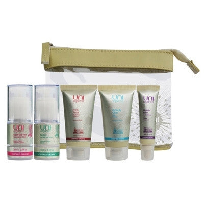 Uni Organics Travel Size Luxe Kit 5 Pcs