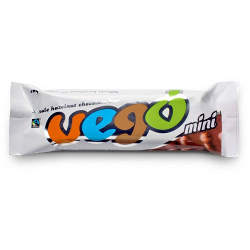 VEGO Whole Hazelnut Chocolate Bar Single Mini 65g