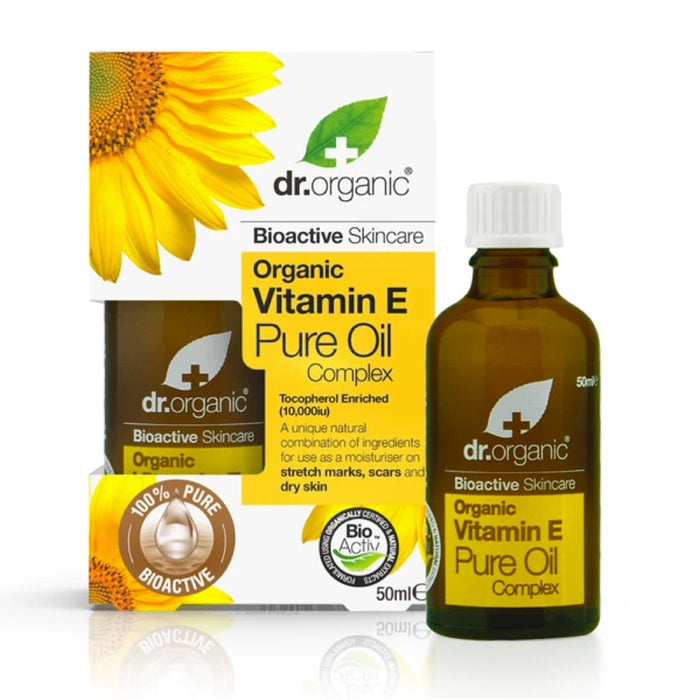 DR ORGANIC Vitamin E Pure Organic Oil 50ml