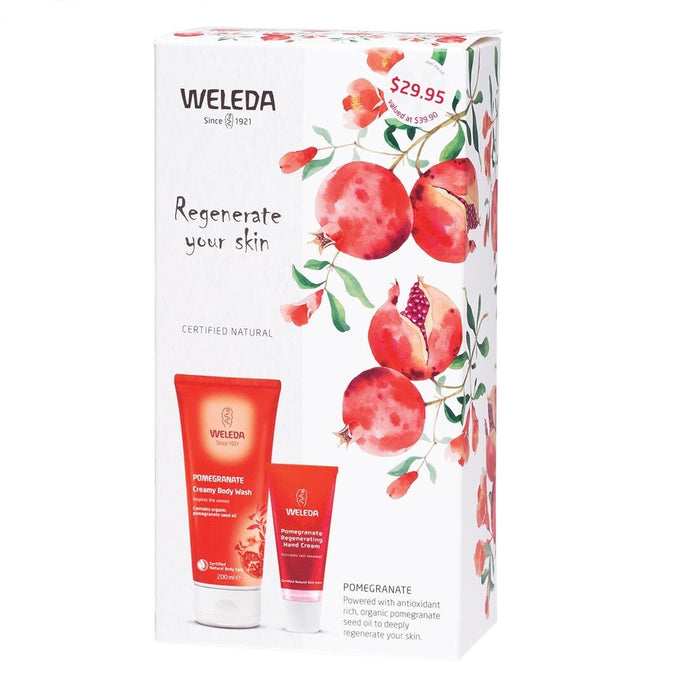 Weleda Pomegranate Regenerate Your Skin Pack