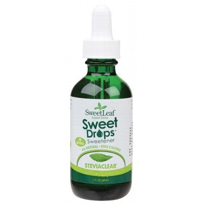 SWEET LEAF Stevia Clear Sweet Drops 60ml