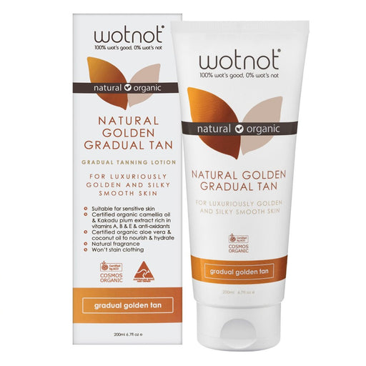 Wotnot Gradual Tanning Lotion Golden Tan