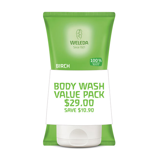 Weleda Duo 2 Pack Body Scrub Birch