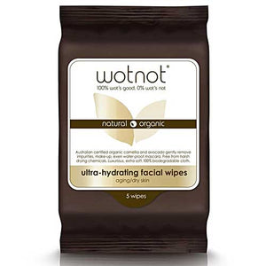 WOTNOT Facial Wipes Ultra-hydrating 5 Pack
