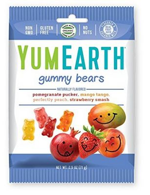 YUMEARTH Organic Gummy Bears 71g