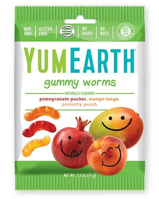 YUMEARTH Organic Gummy Worms 71g