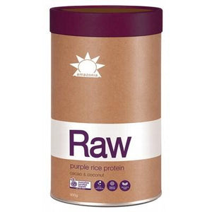 AMAZONIA - RAW Purple Rice Protein Cacao & Coconut 900g