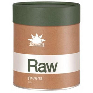 AMAZONIA - RAW Greens Organic Foods, Seeds & Herbs - 300g