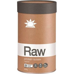 AMAZONIA - RAW Organic Protein Isolate Natural - 500g