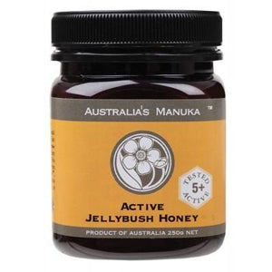 AUSTRALIA'S MANUKA Active Jellybush Honey NPA 5+ (MGO150+) 250g