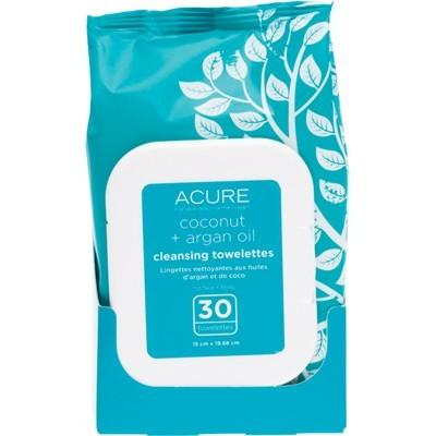 ACURE Cleansing Towelettes Coconut + Argan Oil