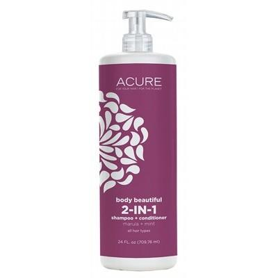 ACURE Body Beautiful 2 in 1 Shampoo & Conditioner 709ml