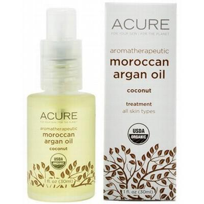ACURE - Organic Argan Oil + Organic Aromatherapeutic Coconut Fragrance- 30ml