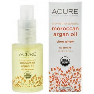 ACURE - Organic Argan Oil + Organic Aromatherapeutic Citrus Ginger 30ml