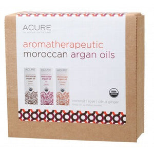 ACURE Organic Aromatherapeutic Argan Oils Gift Pack