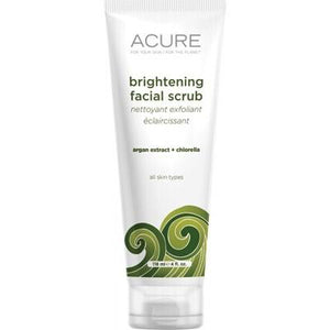 ACURE Brightening Organic Facial Scrub Sea Kelp + Chlorella 118ml