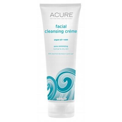 ACURE Organic Facial Cleansing Creme Argan Oil + Mint 118ml
