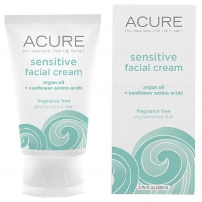 ACURE Sensitive Organic Facial Cream Argan Oil Probiotic 50ml